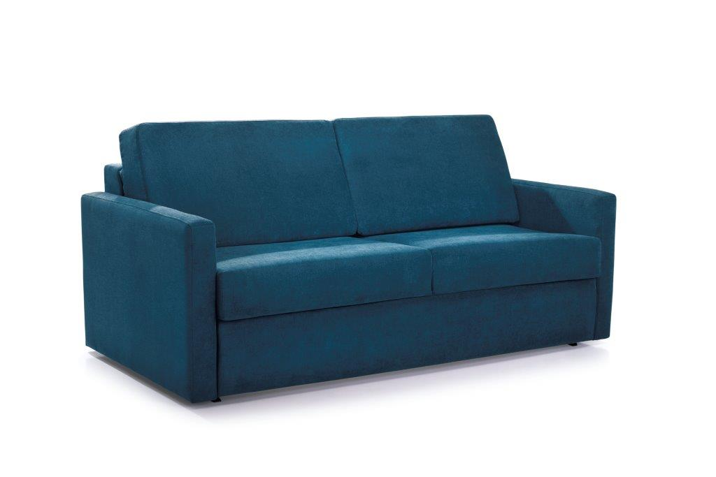 ELBEKO 2 seater arm C (ORINOCO 16 blue) side softnord soft nord scandinavian style furniture modern interior design sofa bed chair pouf upholstery