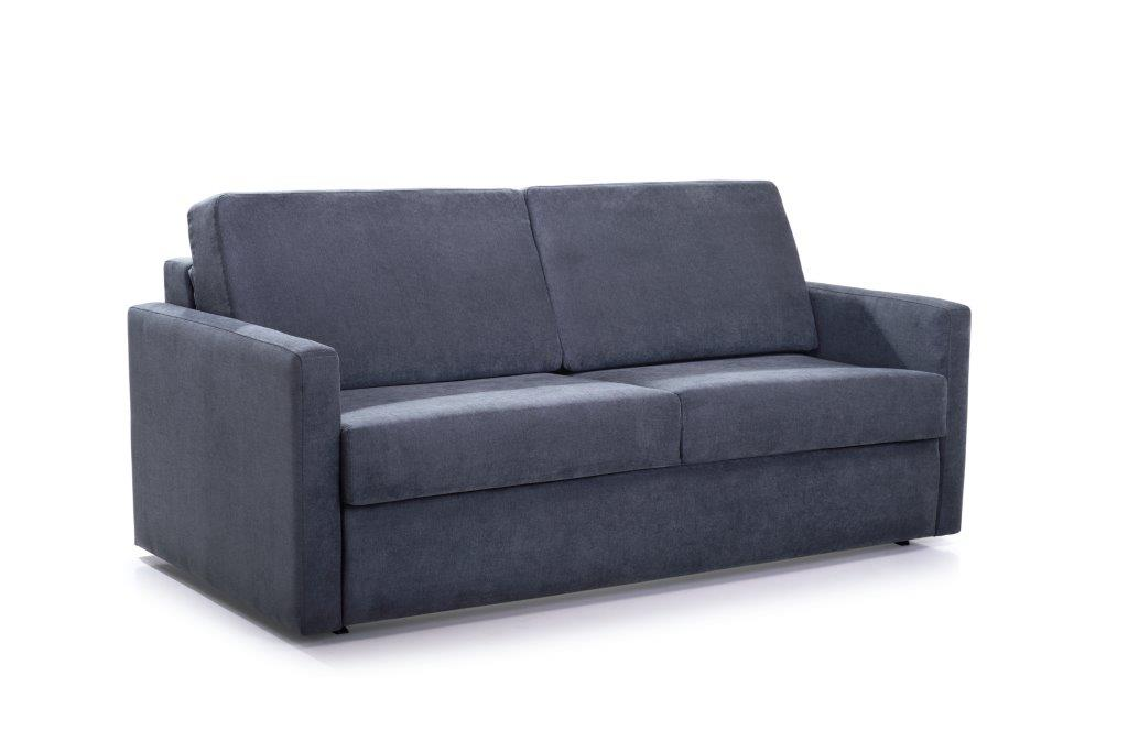 ELBEKO 2 seater arm C (ORINOCO 7 antrazite) side softnord soft nord scandinavian style furniture modern interior design sofa bed chair pouf upholstery