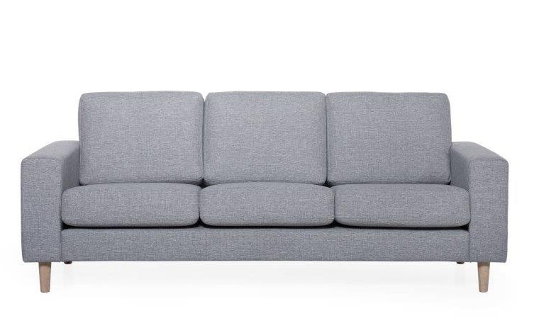 FOCUS 2 seater (LINDT 3_2 dark grey) (1) softnord soft nord scandinavian style furniture modern interior design sofa bed chair pouf upholstery