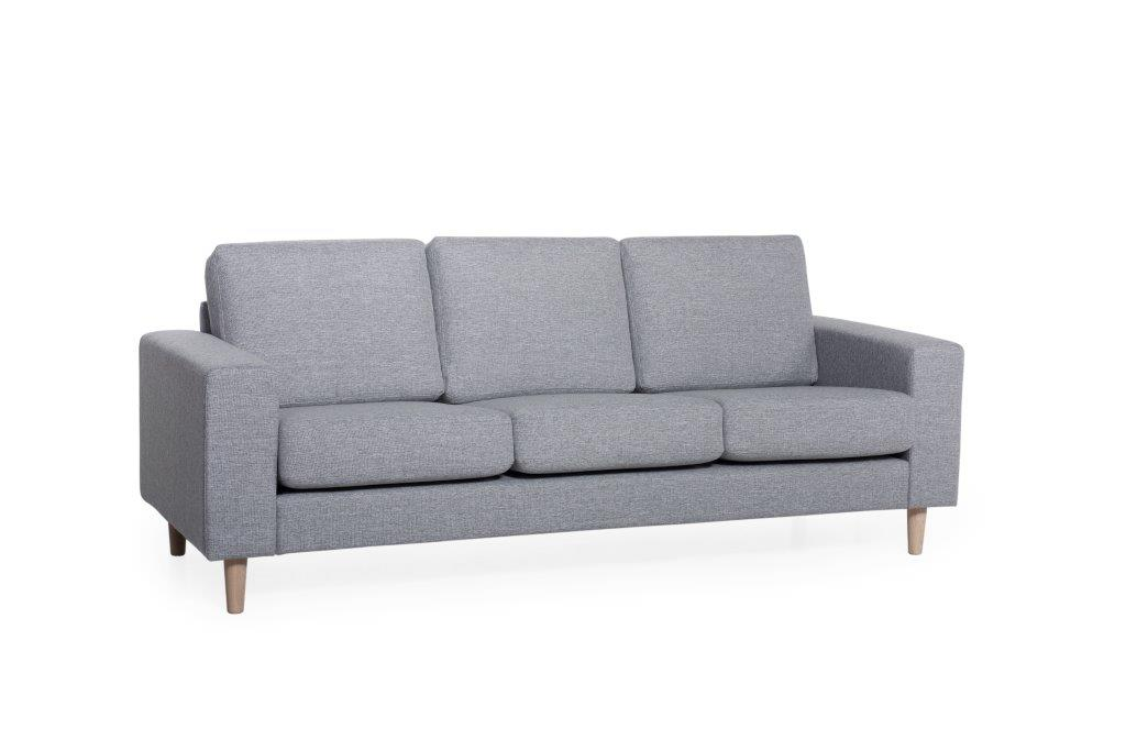 FOCUS 2 seater (LINDT 3_2 dark grey) (2) softnord soft nord scandinavian style furniture modern interior design sofa bed chair pouf upholstery
