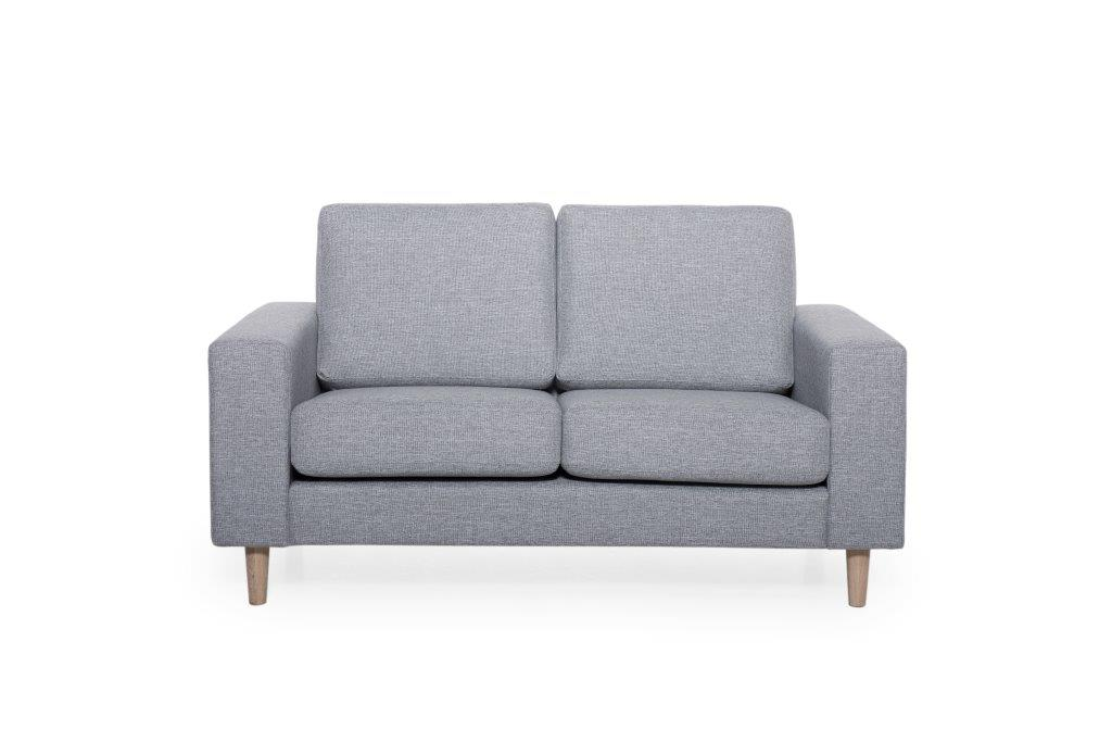 FOCUS 2 seater (LINDT 3_2 dark grey) (3) softnord soft nord scandinavian style furniture modern interior design sofa bed chair pouf upholstery