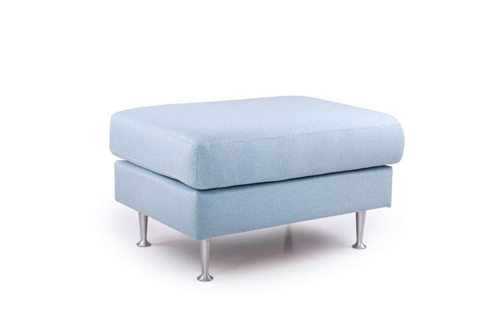 FOCUS big pouf (SALSA 16_1 light blue) side softnord soft nord scandinavian style furniture modern interior design sofa bed chair pouf upholstery