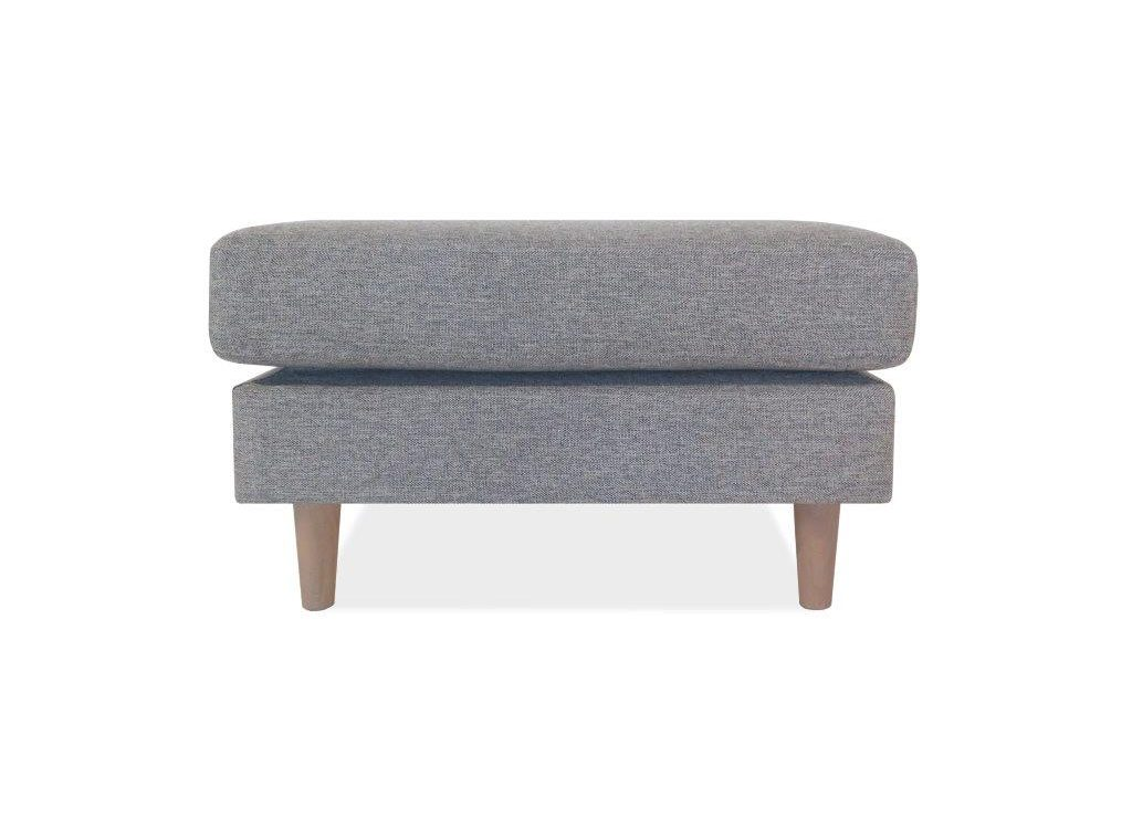 FOCUS pouffe (LINDT 3_2 dark grey) (2) softnord soft nord scandinavian style furniture modern interior design sofa bed chair pouf upholstery