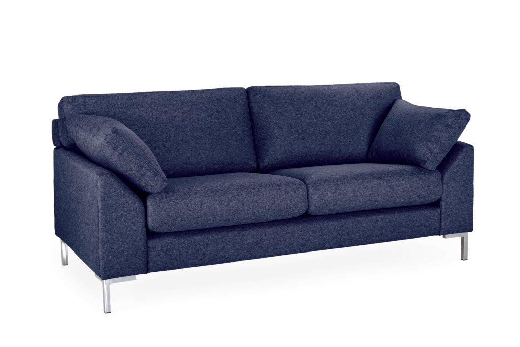 GARDA 2-seater (Malmo dark blue-) softnord soft nord scandinavian style furniture modern interior design sofa bed chair pouf upholstery