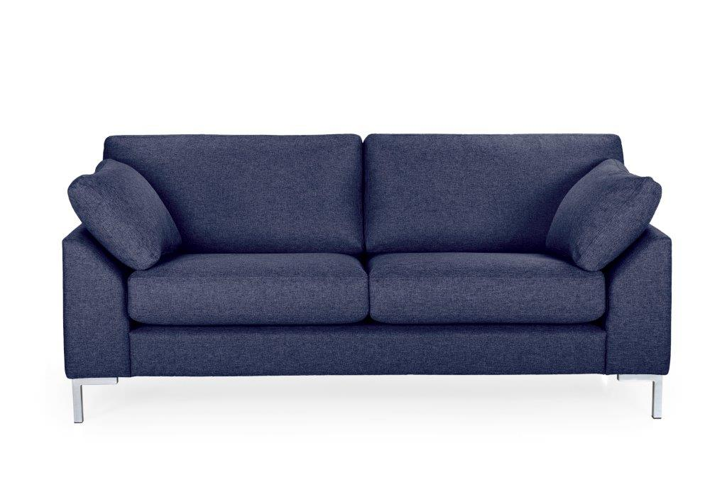 GARDA 2-seater (Malmo dark blue) softnord soft nord scandinavian style furniture modern interior design sofa bed chair pouf upholstery