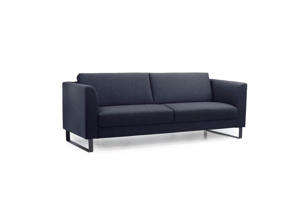 GENEVE 3 seater (VERONA 16.2 dark blue) side softnord soft nord scandinavian style furniture modern interior design sofa bed chair pouf upholstery
