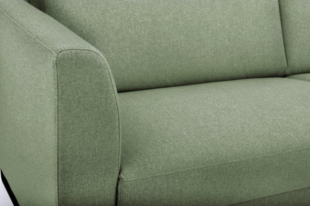 GENEVE 3 seater (VERONA 17 green) detail softnord soft nord scandinavian style furniture modern interior design sofa bed chair pouf upholstery