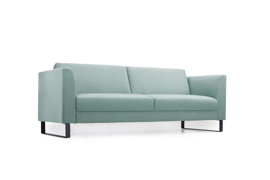 GENEVE 3 seater (VERONA 29 sapphire) low side softnord soft nord scandinavian style furniture modern interior design sofa bed chair pouf upholstery