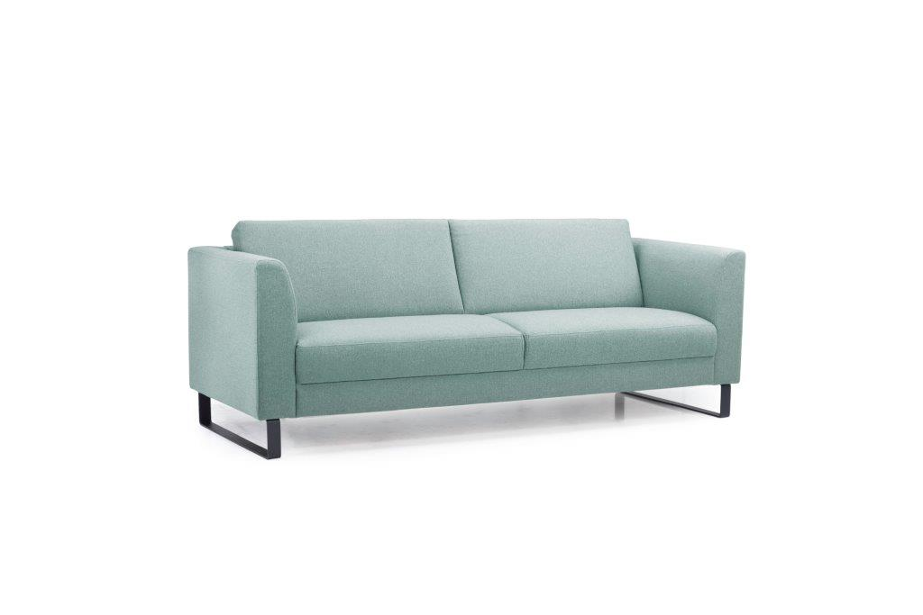 GENEVE 3 seater (VERONA 29 sapphire) side softnord soft nord scandinavian style furniture modern interior design sofa bed chair pouf upholstery