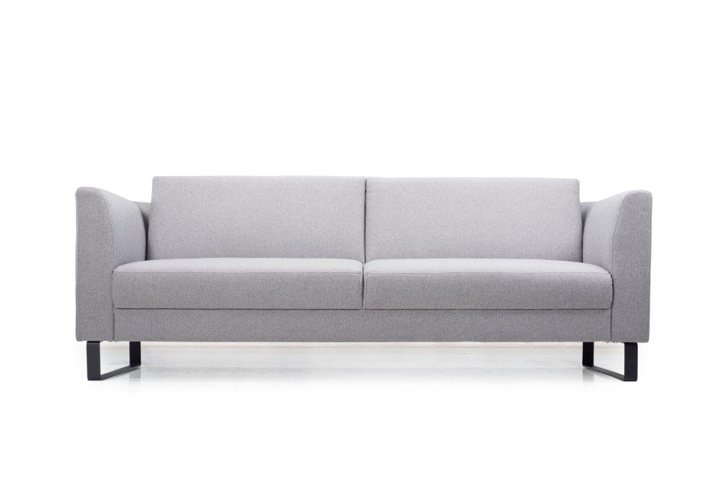 GENEVE 3 seater (VERONA 3 grey) low front softnord soft nord scandinavian style furniture modern interior design sofa bed chair pouf upholstery