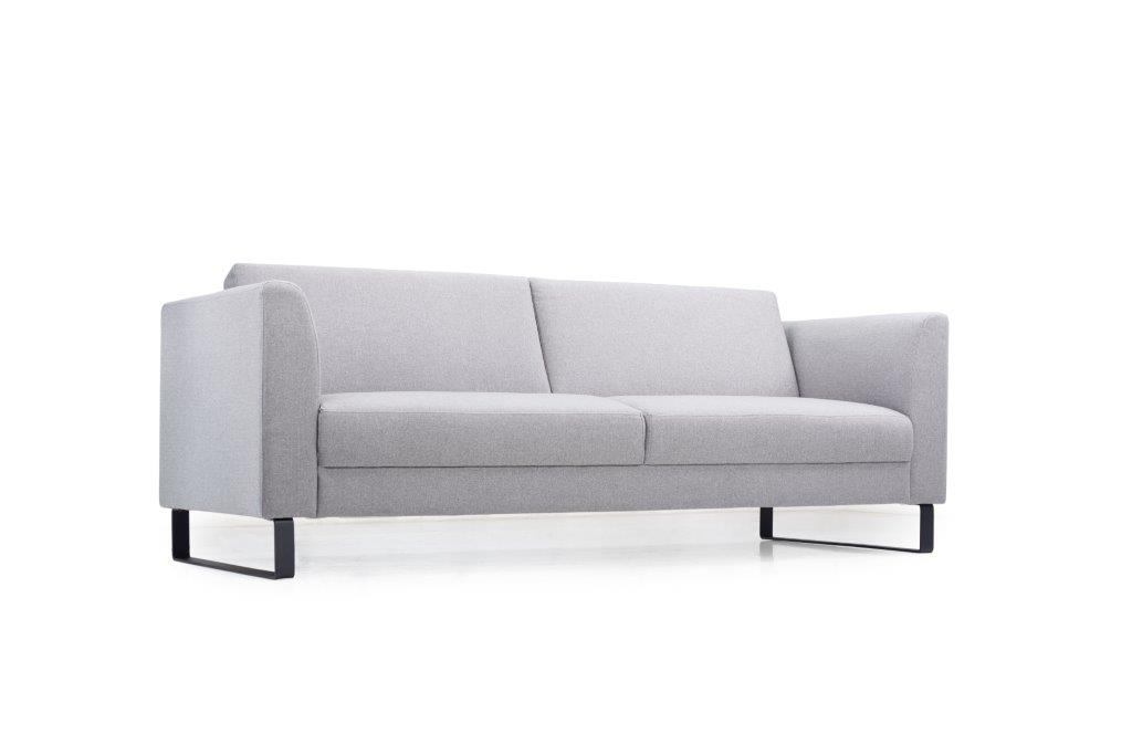 GENEVE 3 seater (VERONA 3 grey) low side softnord soft nord scandinavian style furniture modern interior design sofa bed chair pouf upholstery