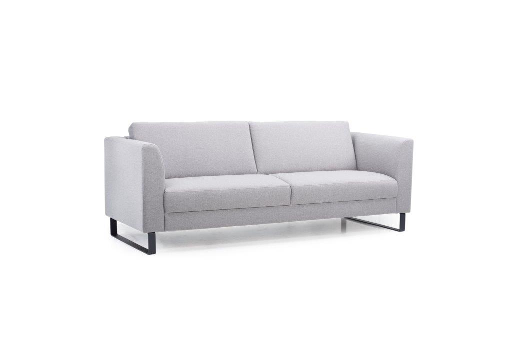 GENEVE 3 seater (VERONA 3 grey) side softnord soft nord scandinavian style furniture modern interior design sofa bed chair pouf upholstery