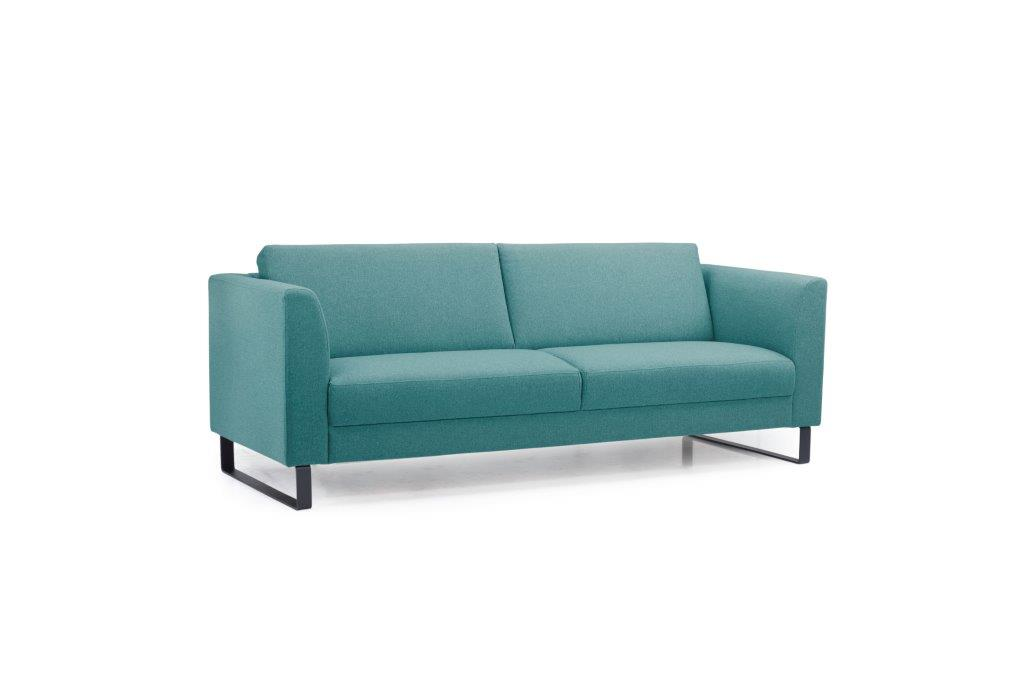 GENEVE 3 seater (VERONA 30 petrol) side softnord soft nord scandinavian style furniture modern interior design sofa bed chair pouf upholstery