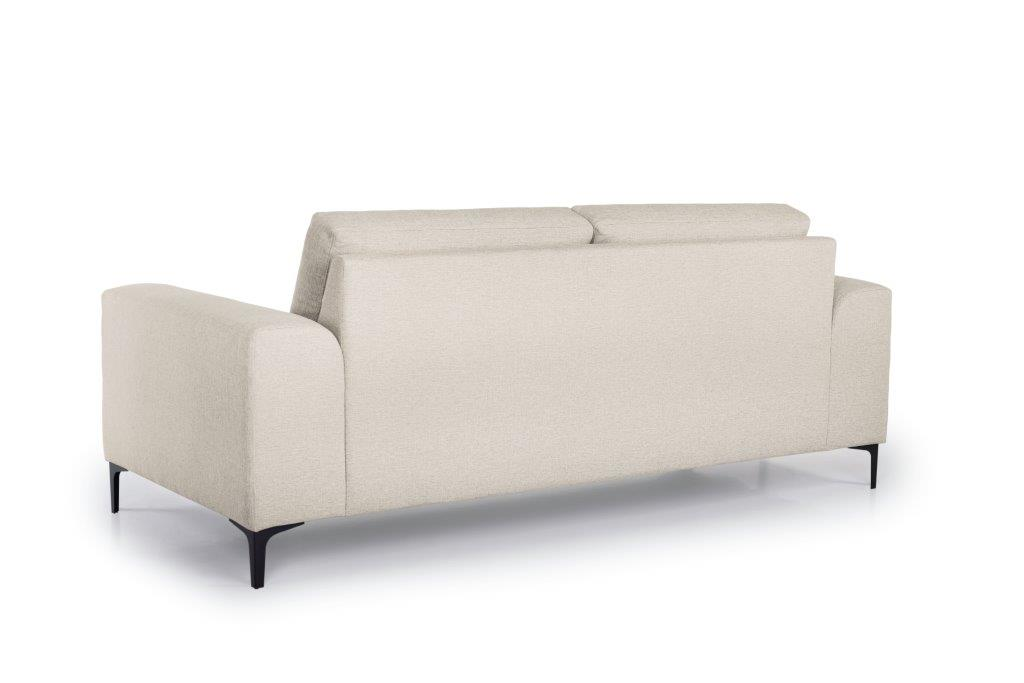 HENRY 2,5-seater (LINDT 8 beige) back softnord soft nord scandinavian style furniture modern interior design sofa bed chair pouf upholstery