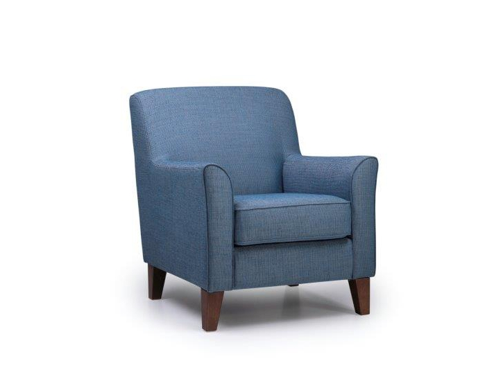 KEATS chair (OCEAN 16 blue) side softnord soft nord scandinavian style furniture modern interior design sofa bed chair pouf upholstery