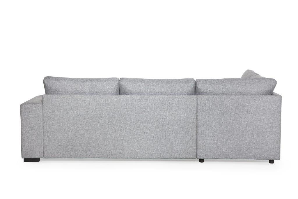NORMANN open corner (LINDT 325 dark grey) softnord soft nord scandinavian style furniture modern interior design sofa bed chair pouf upholstery