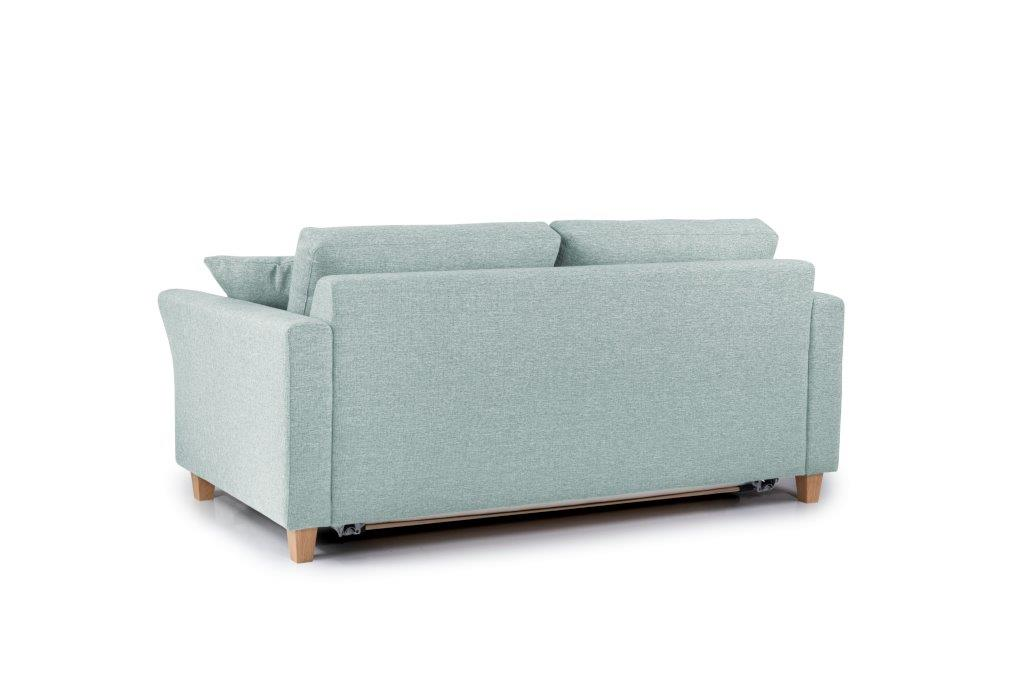 SONIA 2-seater (LINDT 29 sapphire) back softnord soft nord scandinavian style furniture modern interior design sofa bed chair pouf upholstery
