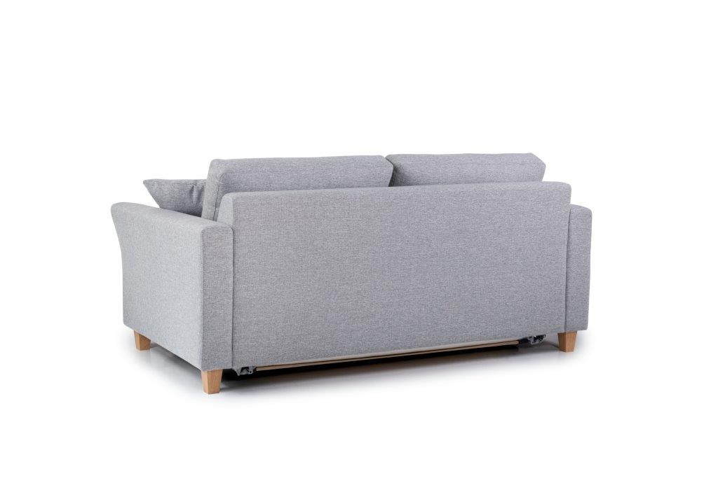 SONIA 2-seater (LINDT 3,2 dark grey) back softnord soft nord scandinavian style furniture modern interior design sofa bed chair pouf upholstery