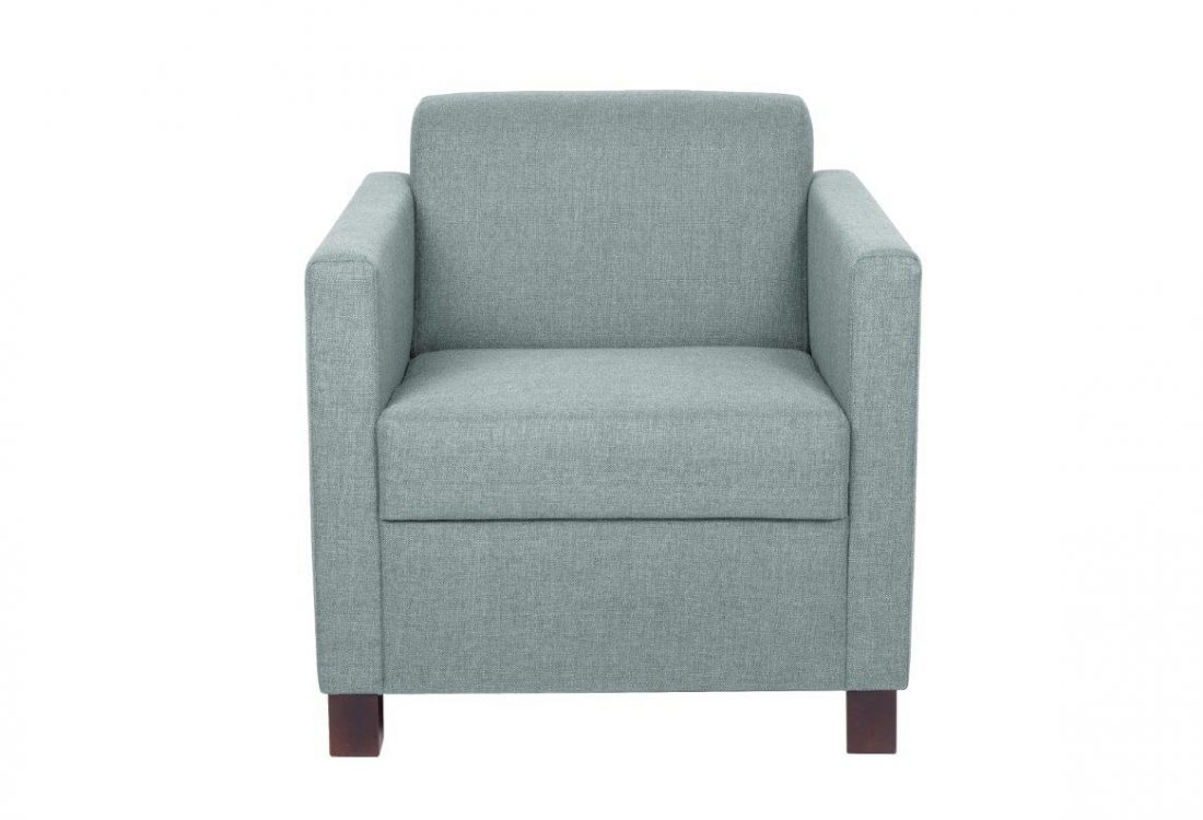 TOPAZ armchair (LINDT 29 sapphire) softnord soft nord scandinavian style furniture modern interior design sofa bed chair pouf upholstery