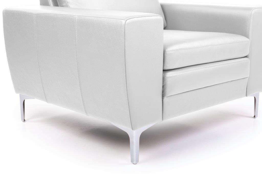 TWIGO 1 seater (SIERA white) arm+leg softnord soft nord scandinavian style furniture modern interior design sofa bed chair pouf upholstery