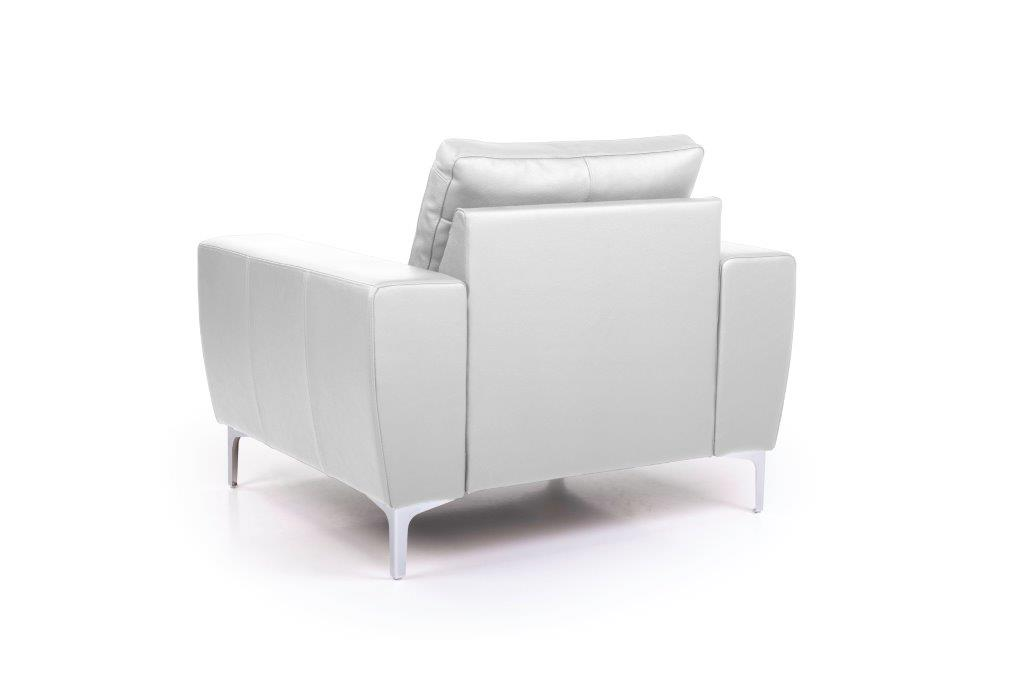 TWIGO 1 seater (SIERA white) back softnord soft nord scandinavian style furniture modern interior design sofa bed chair pouf upholstery