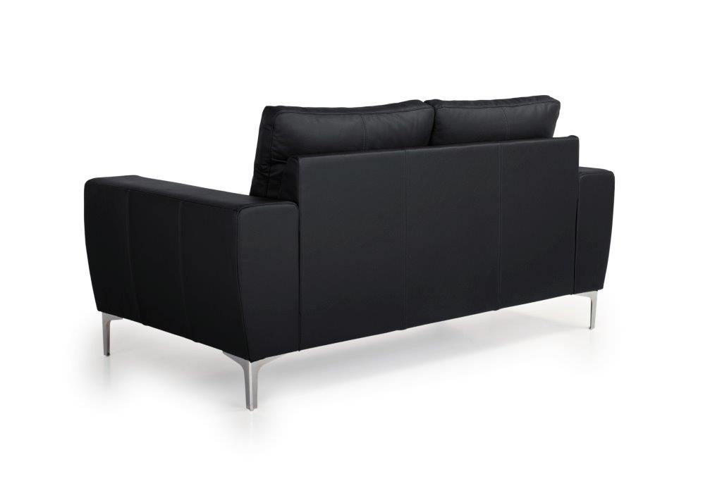 TWIGO 2 seater (SIERA black) back softnord soft nord scandinavian style furniture modern interior design sofa bed chair pouf upholstery