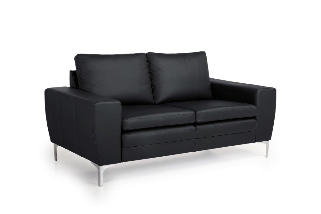 TWIGO 2 seater (SIERA black) side softnord soft nord scandinavian style furniture modern interior design sofa bed chair pouf upholstery