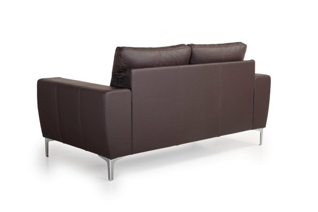 TWIGO 2 seater (SIERA dark brown) back softnord soft nord scandinavian style furniture modern interior design sofa bed chair pouf upholstery