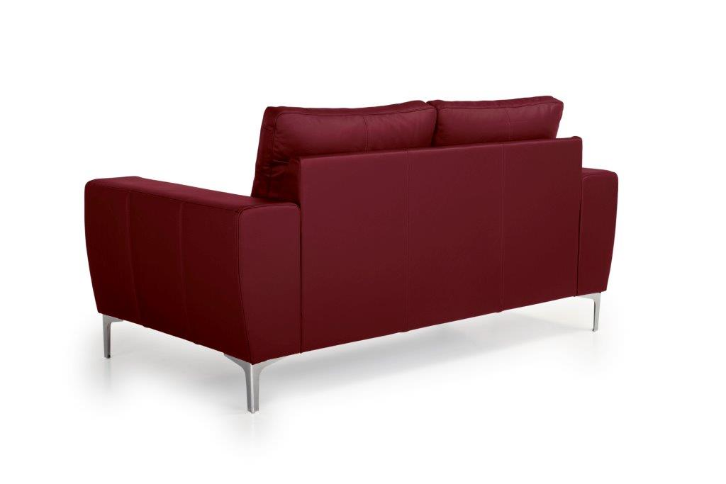 TWIGO 2 seater (SIERA red) back softnord soft nord scandinavian style furniture modern interior design sofa bed chair pouf upholstery