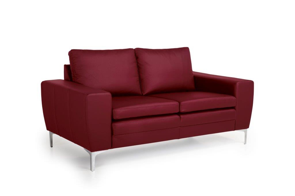 TWIGO 2 seater (SIERA red) side softnord soft nord scandinavian style furniture modern interior design sofa bed chair pouf upholstery