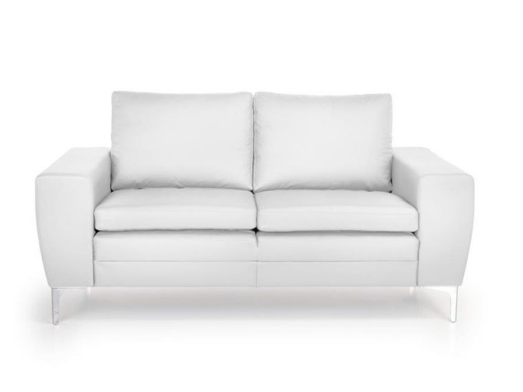 TWIGO 2 seater (SIERA white) front softnord soft nord scandinavian style furniture modern interior design sofa bed chair pouf upholstery