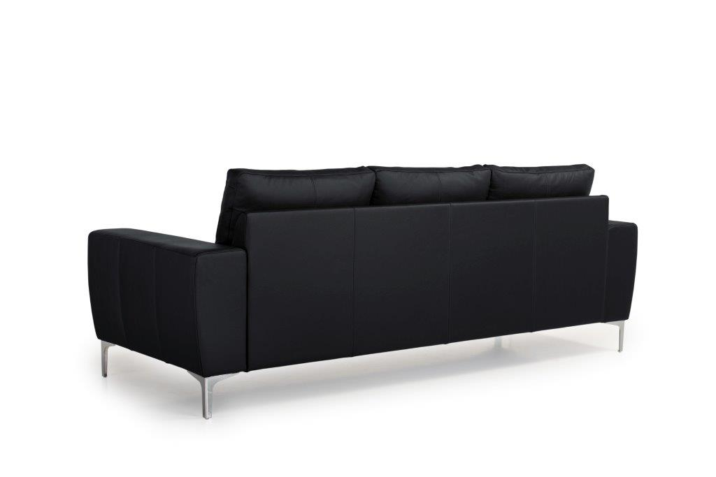 TWIGO 3 seater (SIERA black) back softnord soft nord scandinavian style furniture modern interior design sofa bed chair pouf upholstery