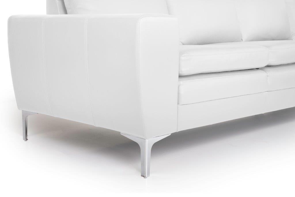TWIGO 3 seater (SIERA white) arm+leg softnord soft nord scandinavian style furniture modern interior design sofa bed chair pouf upholstery