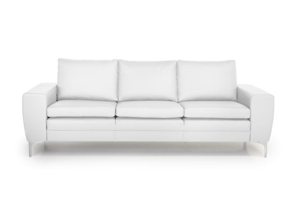 TWIGO 3 seater (SIERA white) front softnord soft nord scandinavian style furniture modern interior design sofa bed chair pouf upholstery