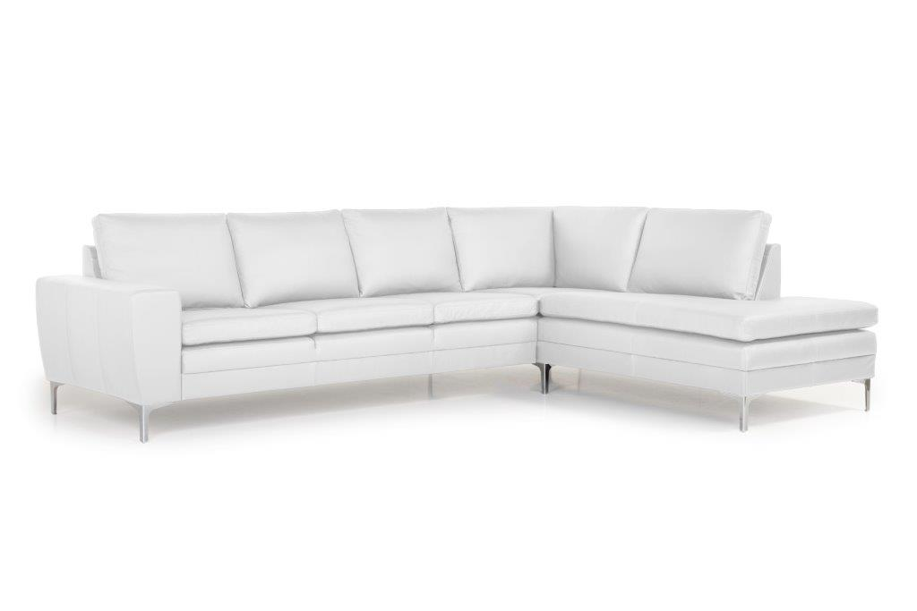 TWIGO open corner with 3 seater (SIERA white) side softnord soft nord scandinavian style furniture modern interior design sofa bed chair pouf upholstery
