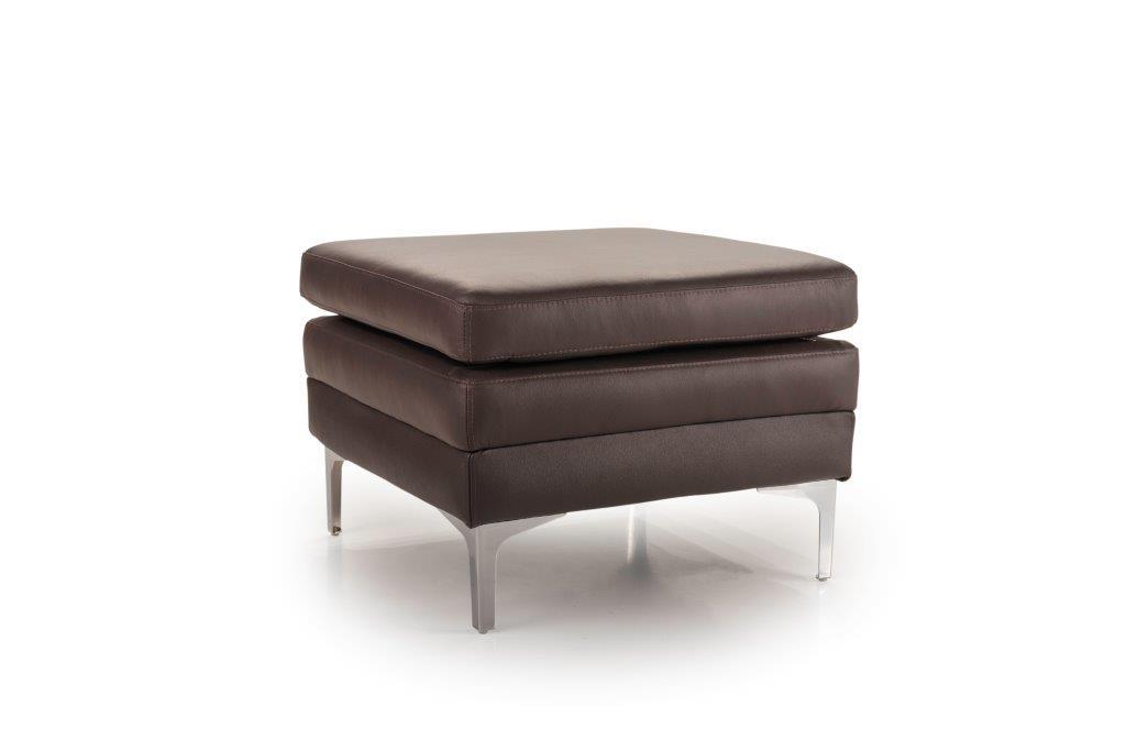 TWIGO pouf (SIERA dark brown) side softnord soft nord scandinavian style furniture modern interior design sofa bed chair pouf upholstery