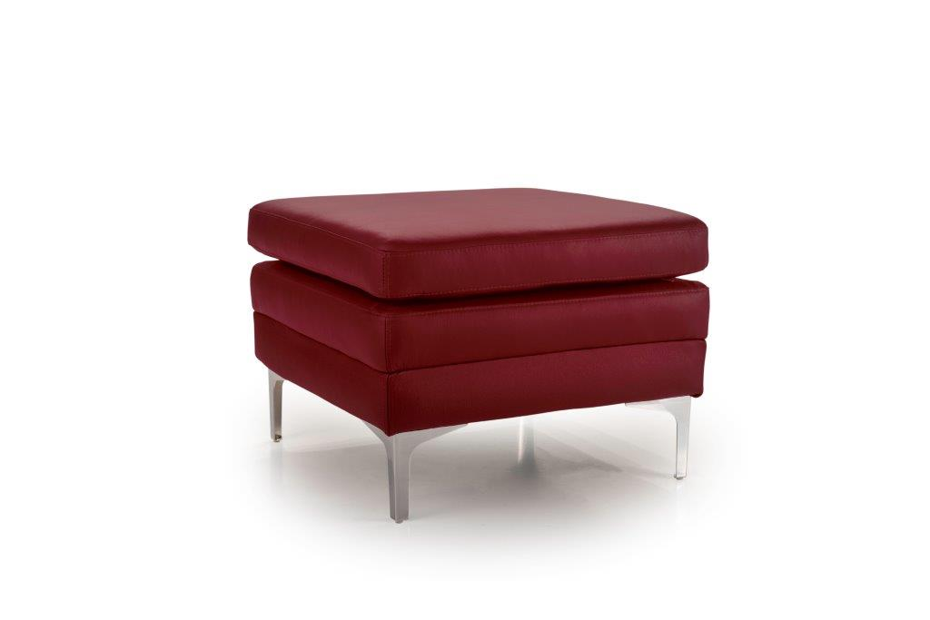 TWIGO pouf (SIERA red) side softnord soft nord scandinavian style furniture modern interior design sofa bed chair pouf upholstery