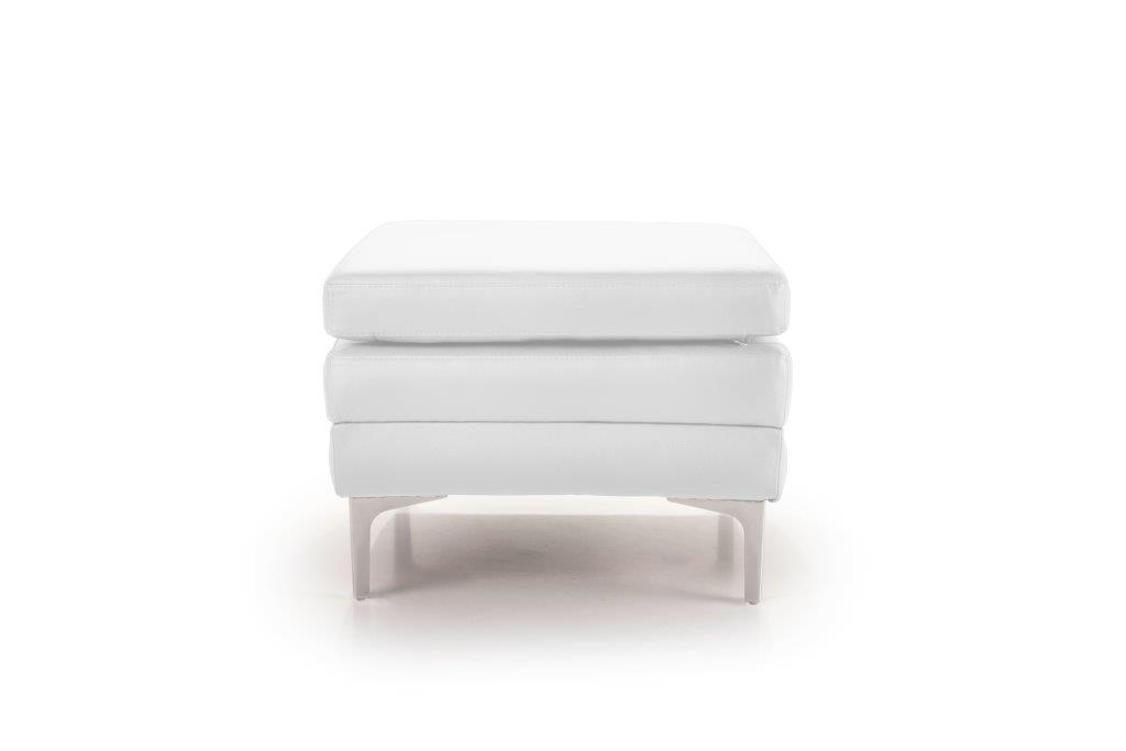 TWIGO pouf (SIERA white) front softnord soft nord scandinavian style furniture modern interior design sofa bed chair pouf upholstery