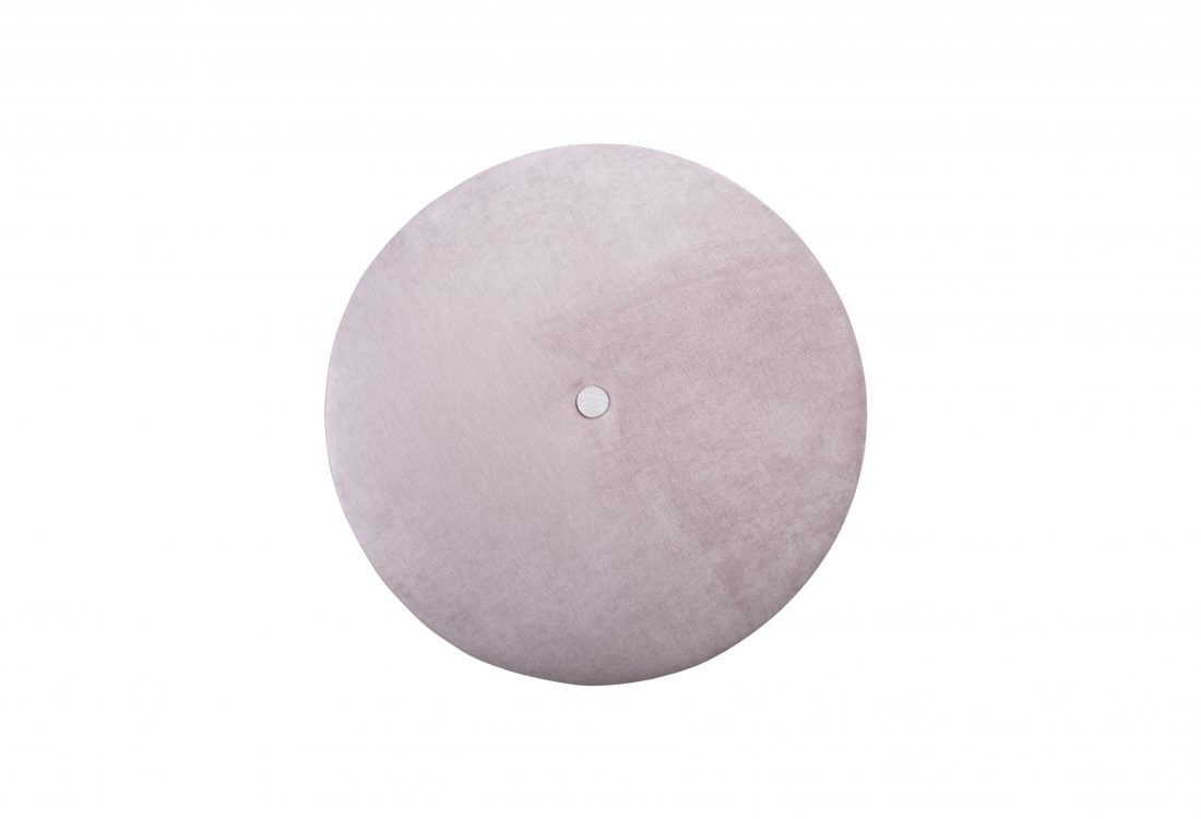 CARATE medium pouf (ORINOCO 11 pink_ORINOCO 8 beige) top