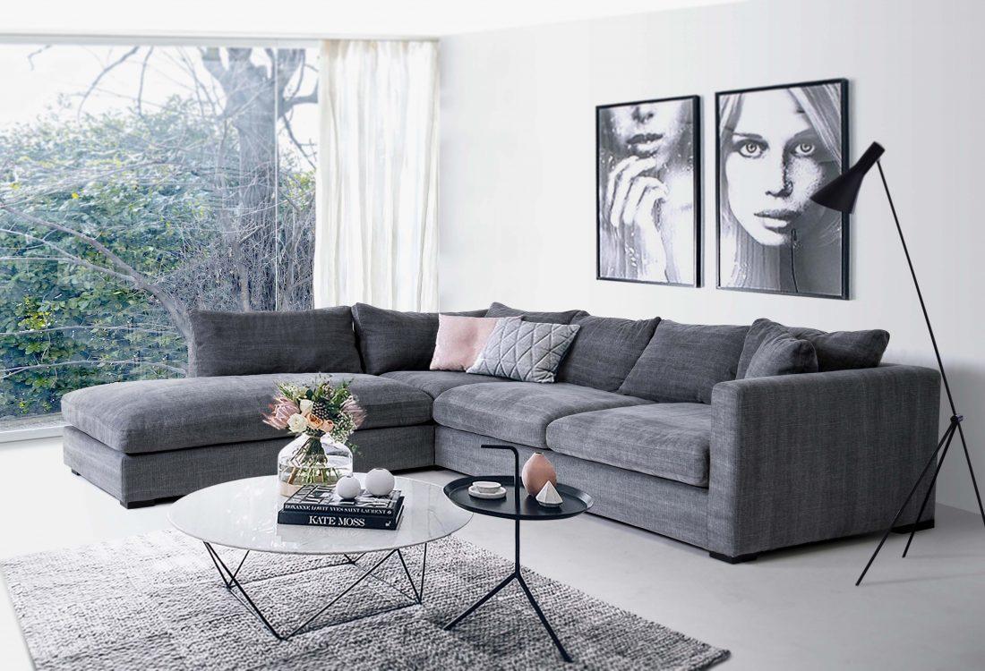 Comfy sofa scandinavian style (1)
