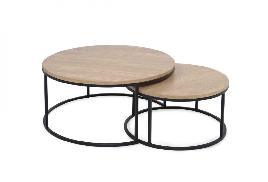 ROUND table set scandinavian style softnord