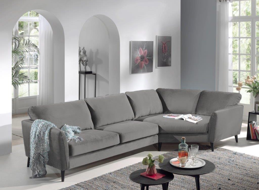 PARIS cosy corner (high rez) (TORO 3 1 light grey) softnord soft nord scandinavian style furniture modern interior design sofa bed chair pouf upholstery