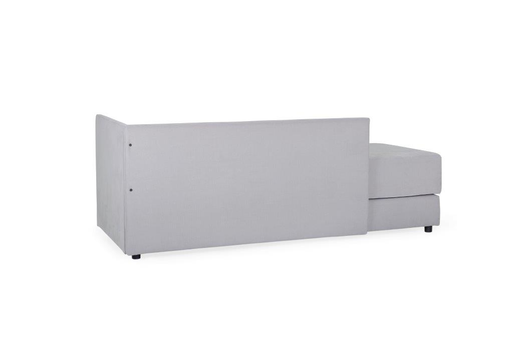 TWAIN sleeping sofa (KENDO 3 grey ) (1) softnord soft nord scandinavian style furniture modern interior design sofa bed chair pouf upholstery