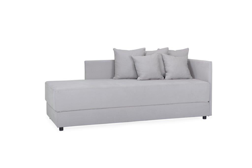 TWAIN sleeping sofa (KENDO 3 grey) (3) softnord soft nord scandinavian style furniture modern interior design sofa bed chair pouf upholstery