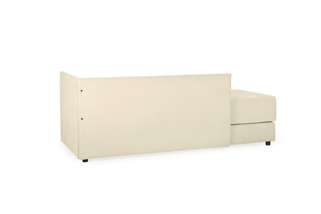 TWAIN sleeping sofa (KENDO 8 beige) (2) softnord soft nord scandinavian style furniture modern interior design sofa bed chair pouf upholstery