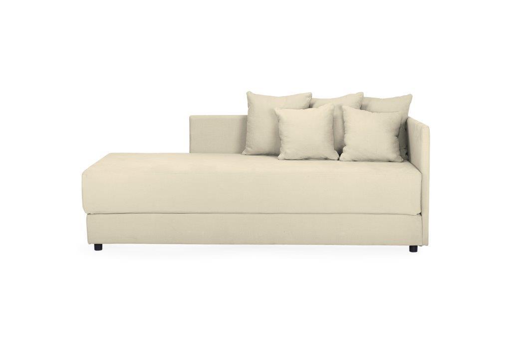 TWAIN sleeping sofa (KENDO 8 beige) (3) softnord soft nord scandinavian style furniture modern interior design sofa bed chair pouf upholstery