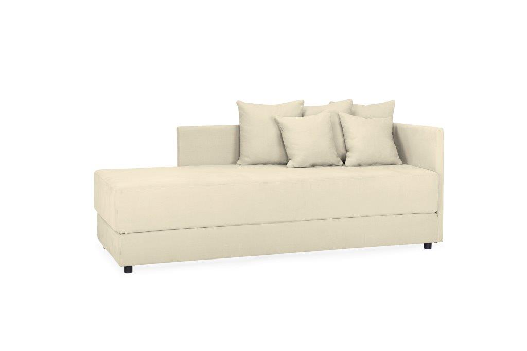 TWAIN sleeping sofa (KENDO 8 beige) (4) softnord soft nord scandinavian style furniture modern interior design sofa bed chair pouf upholstery