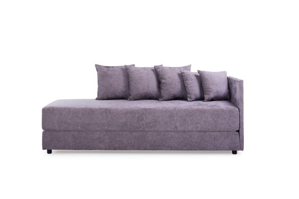 TWAIN sleeping sofa (SOFT 19 lily) front-softnord soft nord scandinavian style furniture modern interior design sofa bed chair pouf upholstery