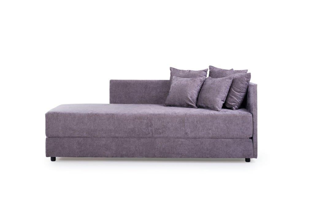 TWAIN sleeping sofa (SOFT 19 lily) front softnord soft nord scandinavian style furniture modern interior design sofa bed chair pouf upholstery