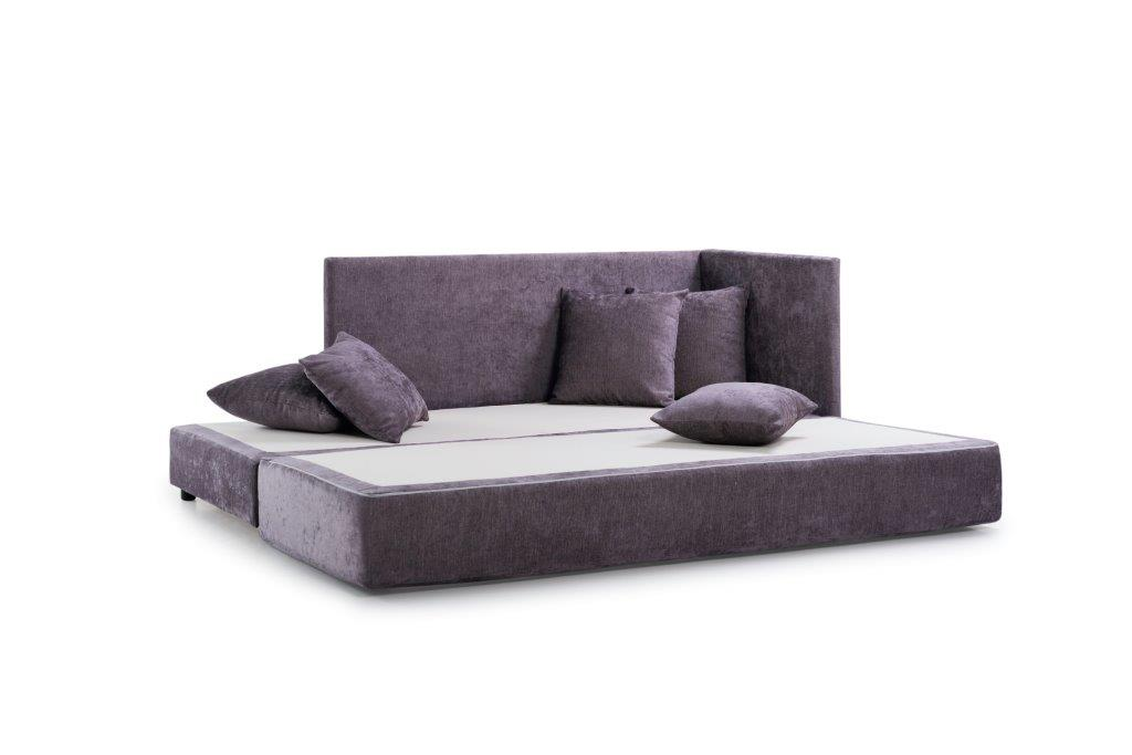 TWAIN sleeping sofa (SOFT 19 lily) open softnord soft nord scandinavian style furniture modern interior design sofa bed chair pouf upholstery